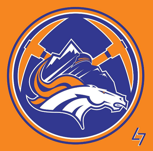 Broncos Nuggets Rookies Avalanche logo
