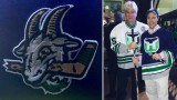 Whalers de Hartford Yard Goats hommage