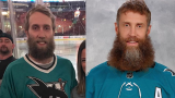 Joe Thornton sosie Sharks