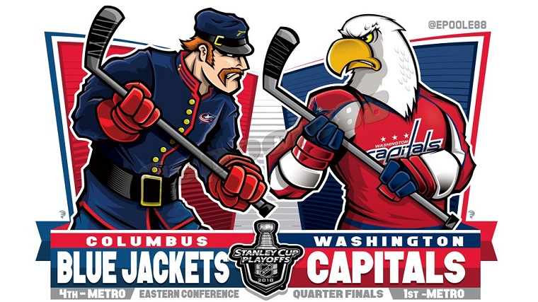 Capitals Blue Jackets EPoole88