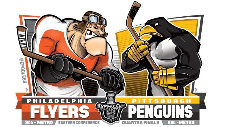 Flyers Penguins EPoole88