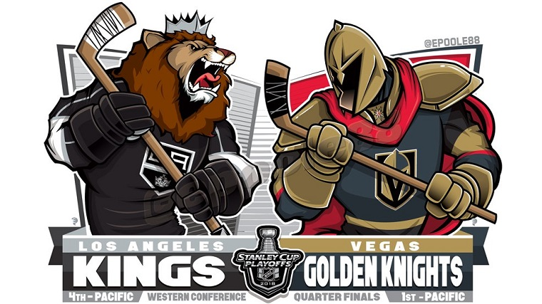 Kings Golden Knights EPoole88