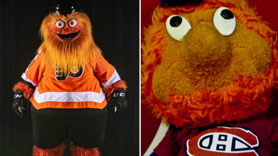 Montage Gritty et Youppi