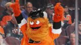 Gritty mascotte flyers philadelphie