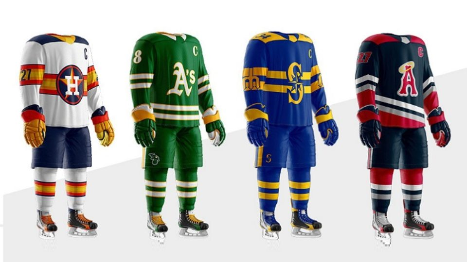 Uniformes baseball MLB + hockey 02