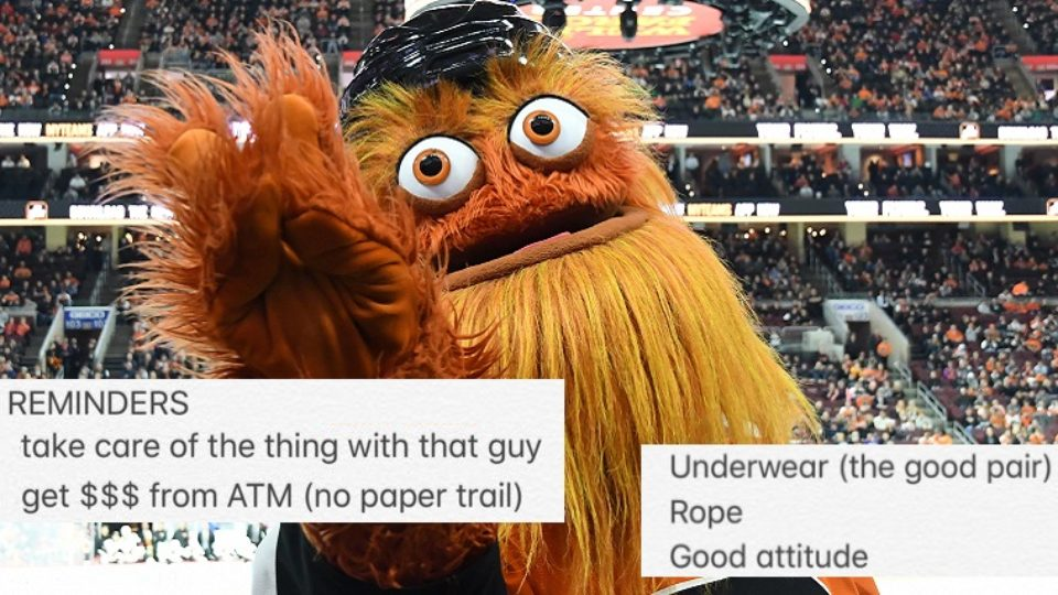Gritty menaces