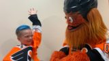 Gritty et Caiden O'Rourke