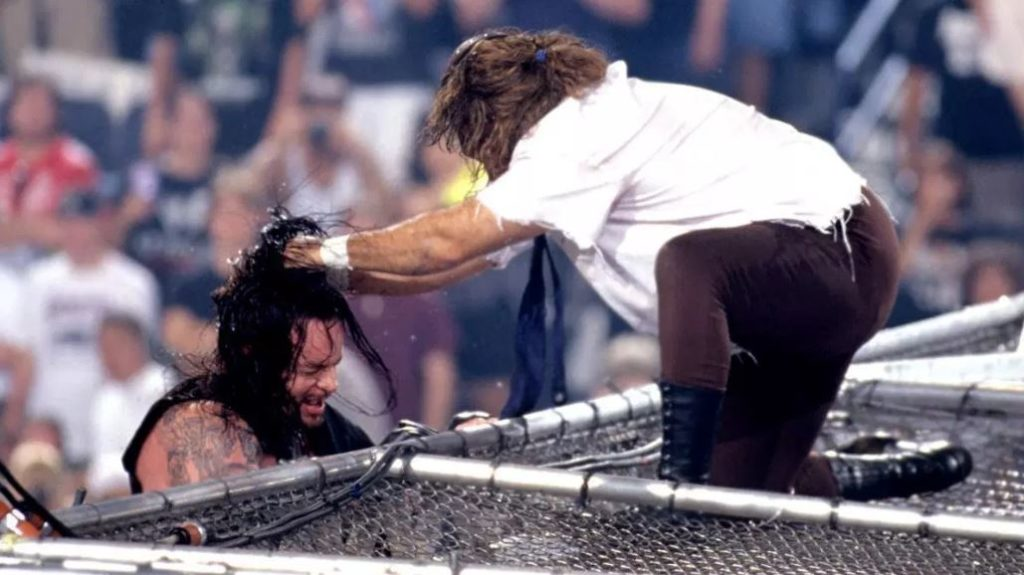 Mick Foley vs The Undertaker