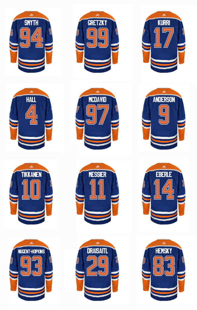 Oilers attaquants all-time