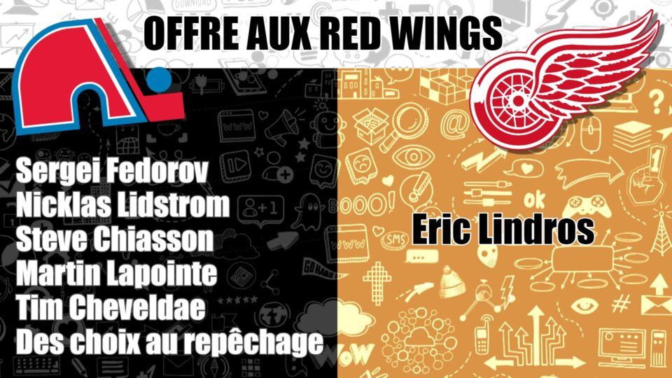 Offres Red Wings Lindros